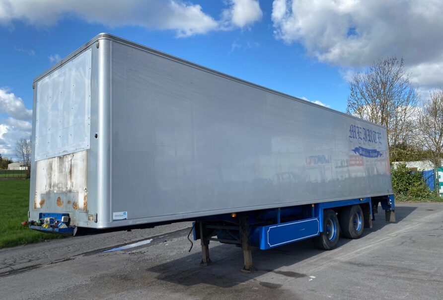 PACTON - Chereau box - 1999 - 2 axles BPW - loadlift 2T