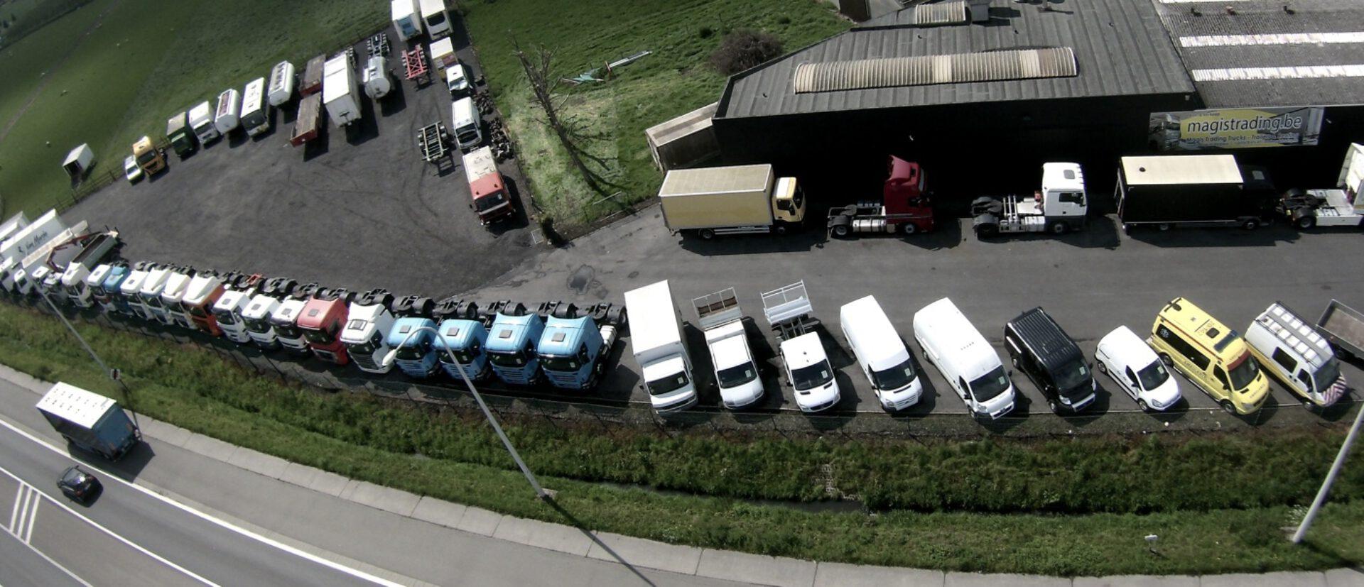 Large gamme de camions d'occasion